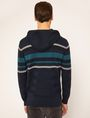 ARMANI EXCHANGE MULTI-STRIPE SWEATER HOODIE Hoodie Man e