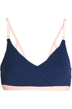 ANA HEART Blake two-tone stretch sports bra