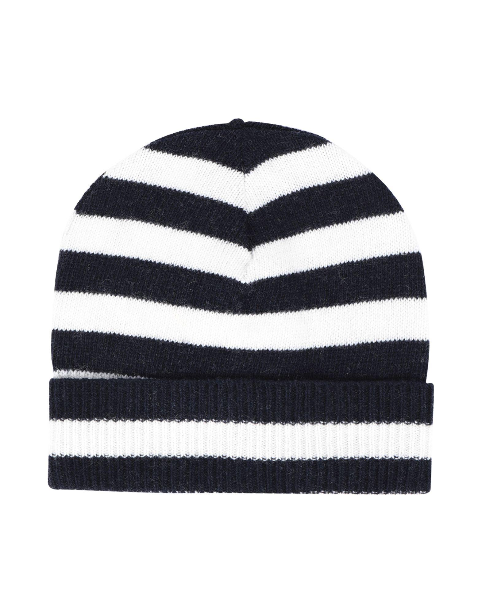 《セール開催中》ESSENTIEL ANTWERP メンズ 帽子 ホワイト one size ナイロン 35% / ウール 30% / レーヨン 30% / カシミヤ 5% LIVERPOOL