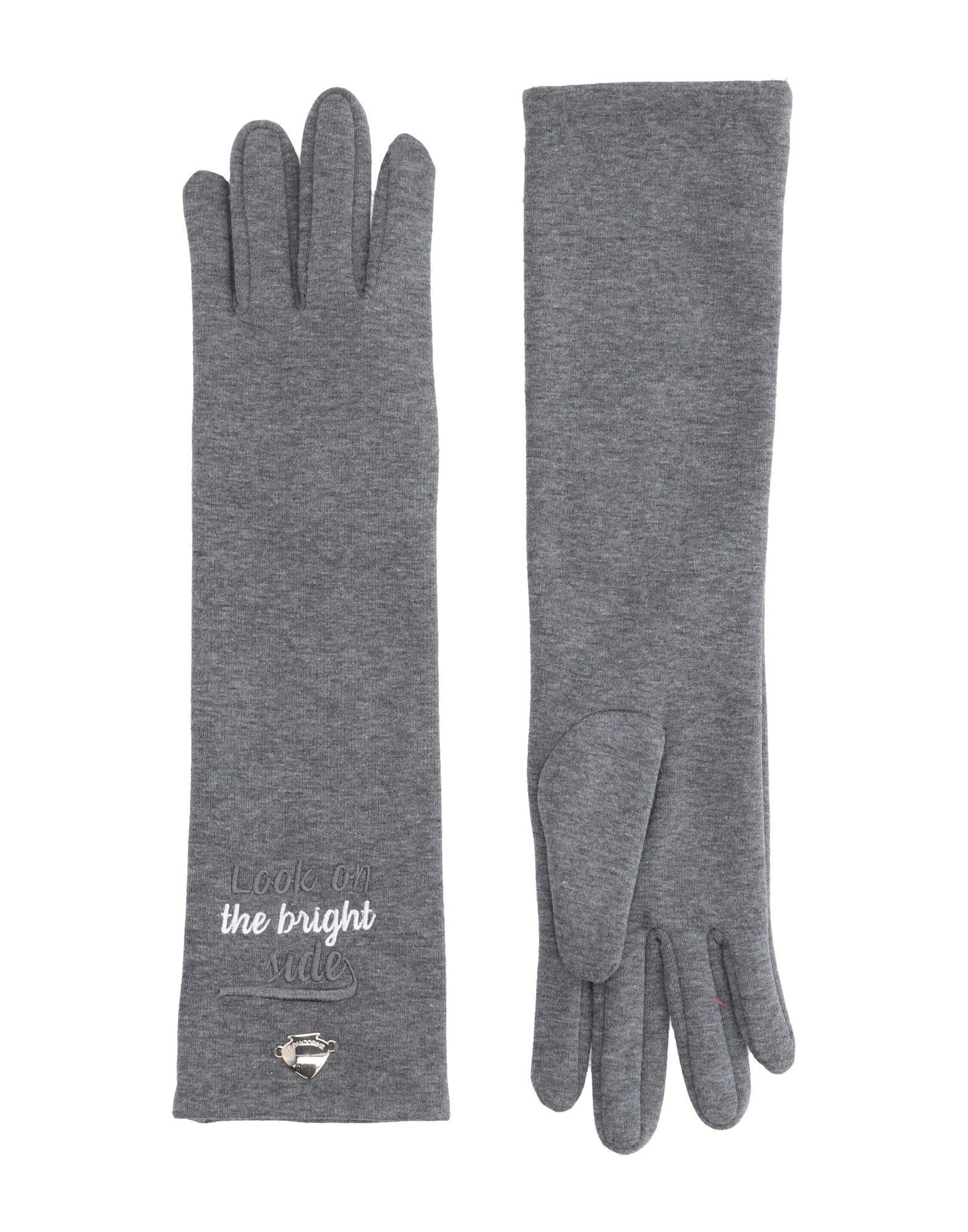 LE PANDORINE Перчатки кожаные перчатки на меху