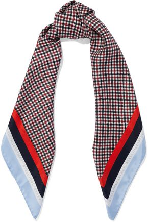 STELLA McCARTNEY Printed silk scarf