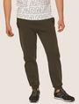ARMANI EXCHANGE LOGO PRINT SIDE-STRIPE SWEATPANT Fleece Trouser Man f