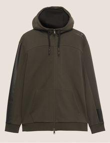 ARMANI EXCHANGE FUNNELNECK 1991 LOGO ZIP-UP HOODIE Sweatshirt [*** pickupInStoreShippingNotGuaranteed_info ***] r