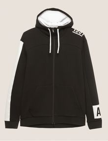 ARMANI EXCHANGE FUNNELNECK 1991 LOGO ZIP-UP HOODIE Sweatshirt [*** pickupInStoreShippingNotGuaranteed_info ***] r
