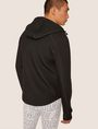 ARMANI EXCHANGE LOGO SLEEVE BONDED ZIP-UP HOODIE Sweatshirt [*** pickupInStoreShippingNotGuaranteed_info ***] e