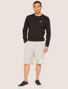 ARMANI EXCHANGE SEQUIN CREST BONDED SWEATSHIRT Sweatshirt [*** pickupInStoreShippingNotGuaranteed_info ***] d