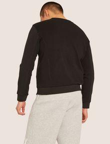 ARMANI EXCHANGE SEQUIN CREST BONDED SWEATSHIRT Sweatshirt [*** pickupInStoreShippingNotGuaranteed_info ***] e