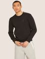 ARMANI EXCHANGE SEQUIN CREST BONDED SWEATSHIRT Sweatshirt [*** pickupInStoreShippingNotGuaranteed_info ***] f