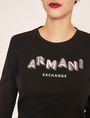 ARMANI EXCHANGE ロングスリーブTシャツ プリントトップス レディース b
