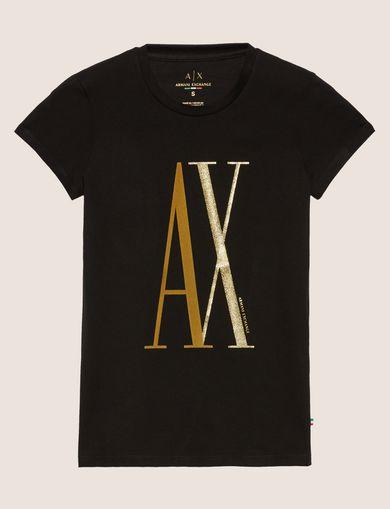 A XロゴTシャツ