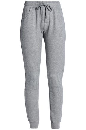 ZOE KARSSEN Cotton-blend track pants