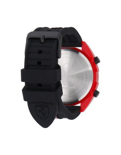 Scuderia Ferrari Online Store - Forza 红色数码腕表 - 石英表