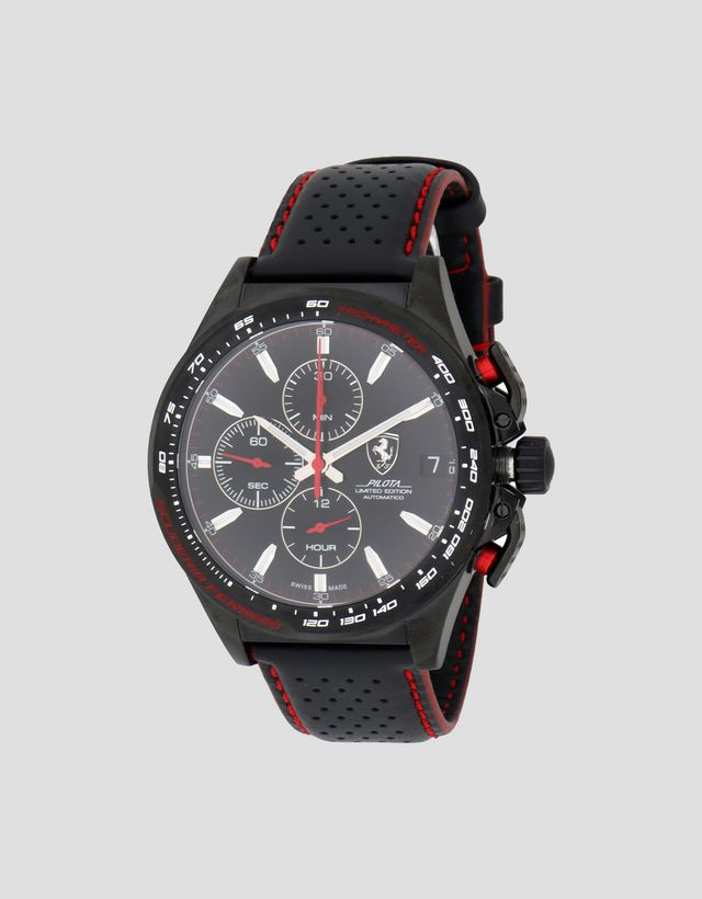 c2926d71686 Scuderia Ferrari Online Store - Limited Edition automatic Pilota watch -  Chrono Watches ...