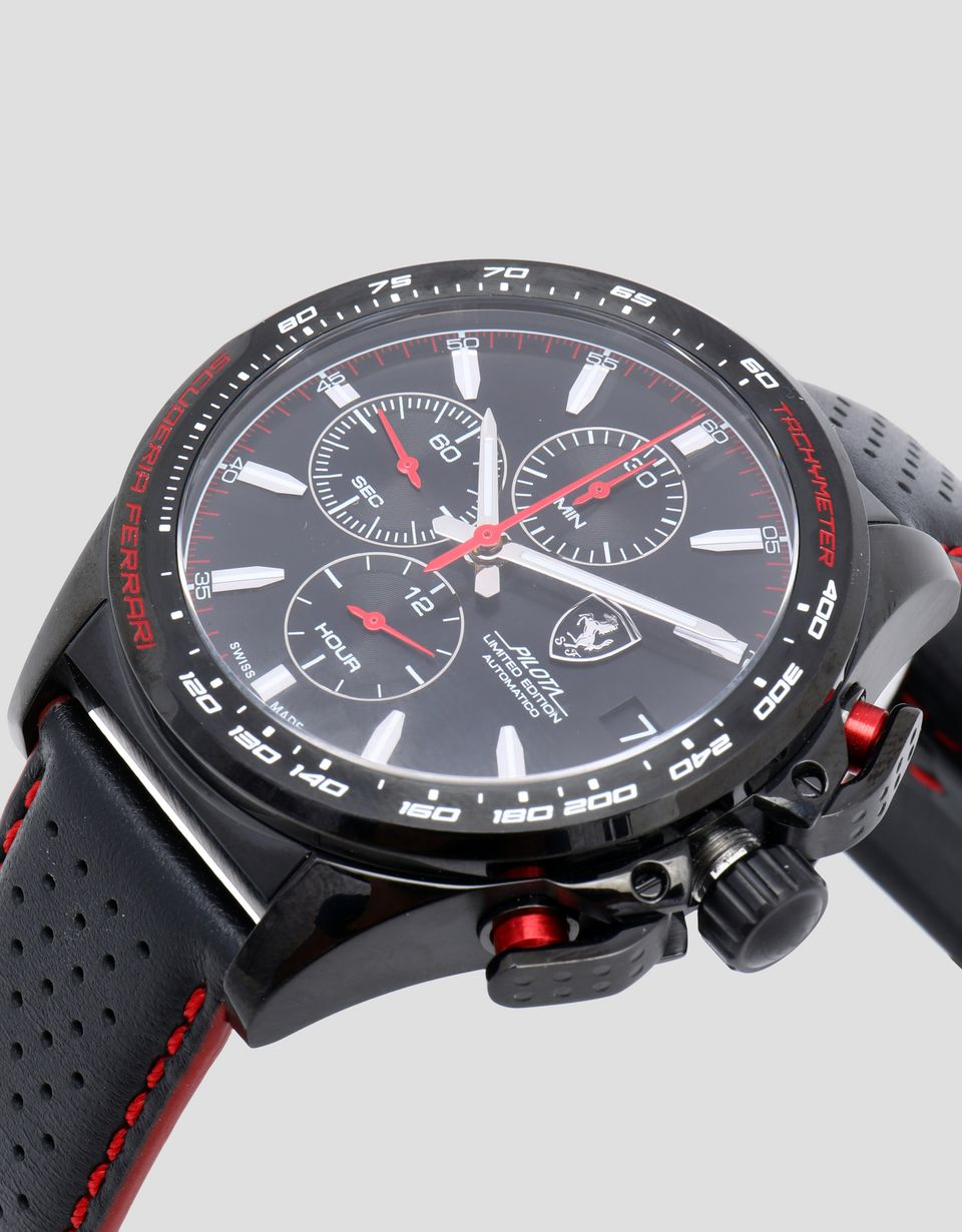 Scuderia Ferrari Online Store - Limited edition automatic Pilota watch -