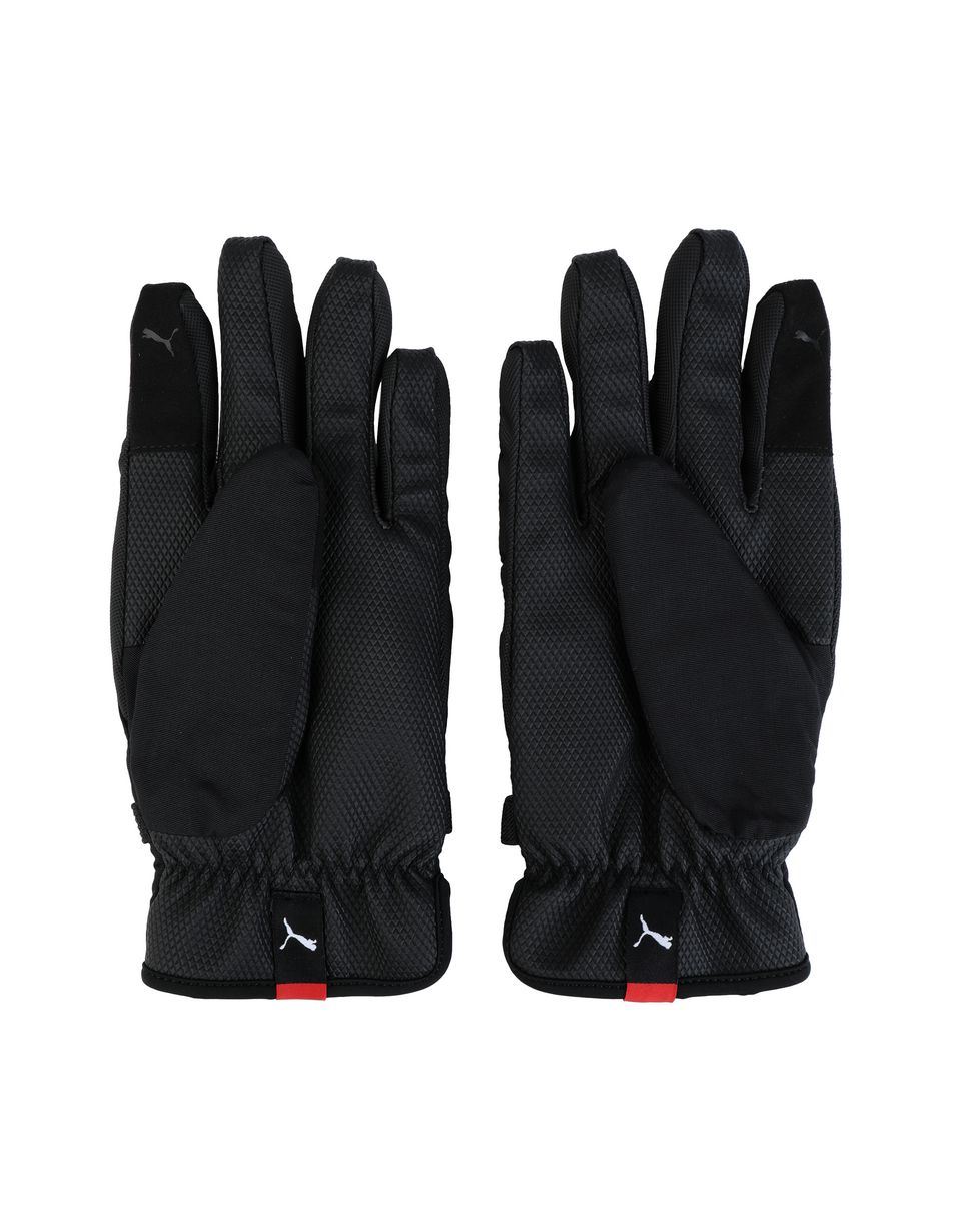 Scuderia Ferrari Online Store - Men's Puma x Scuderia Ferrari gloves - Regular Gloves