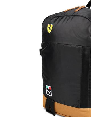 Scuderia Ferrari Online Store - Puma Scuderia Ferrari backpack for men - Regular Rucksacks