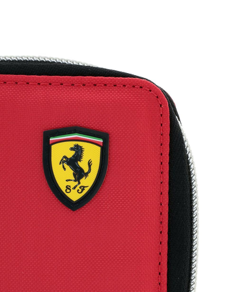 Scuderia Ferrari Online Store - Men's Puma x Scuderia Ferrari zipper wallet -
