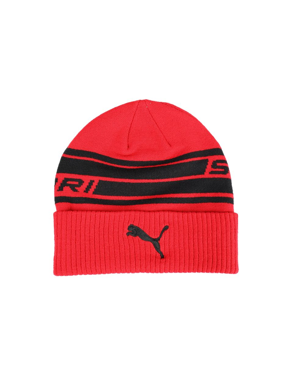 Scuderia Ferrari Online Store - Puma Scuderia Ferrari knit cap for men - Beanie Hats