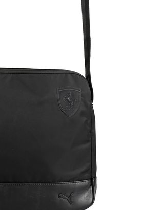 Scuderia Ferrari Online Store - Men's Puma SF crossbody bag - Messenger Bags