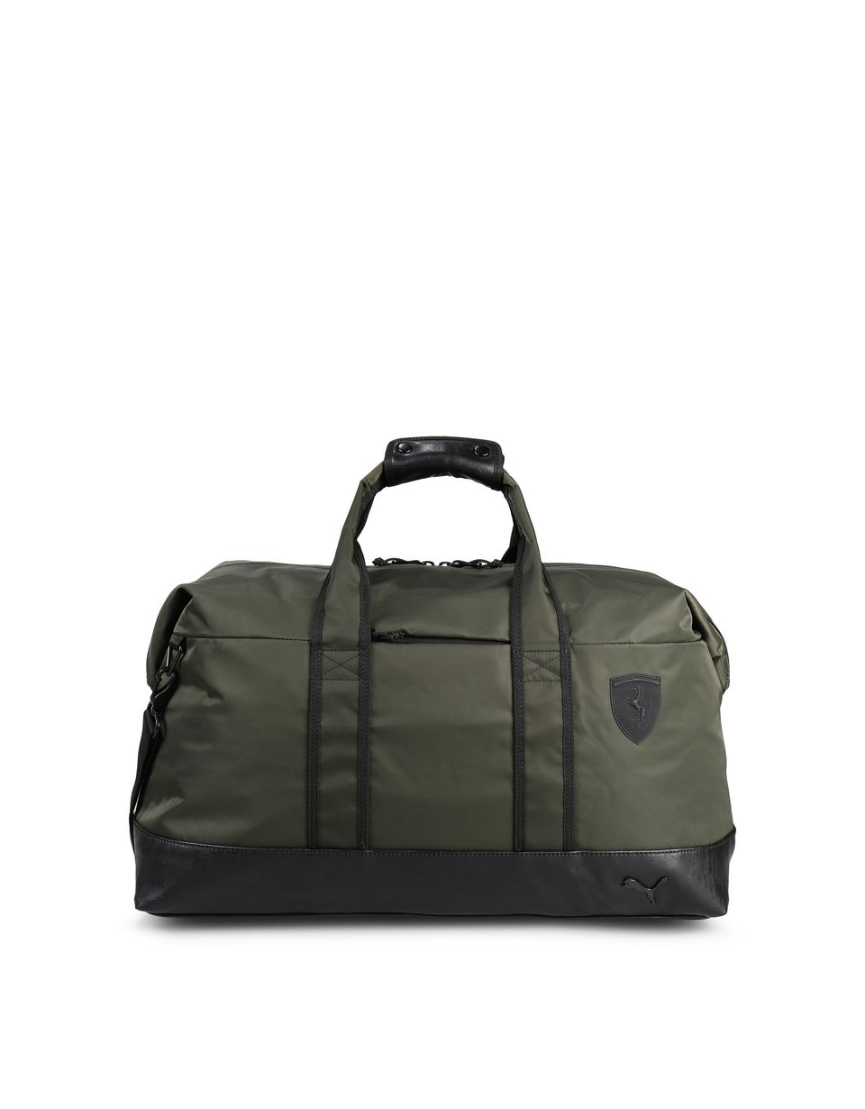 Scuderia Ferrari Online Store - Puma SF weekender bag with two-way zip for men - Briefcase Bags