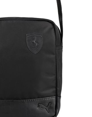 Scuderia Ferrari Online Store - Puma Scuderia Ferrari crossbody bag for men - Messenger Bags