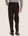 ARMANI EXCHANGE VELVET PIPING PLEATED TROUSER Smart Pant [*** pickupInStoreShippingNotGuaranteed_info ***] e