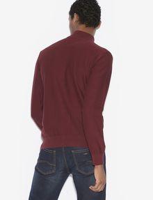 ARMANI EXCHANGE CLASSIC MOCKNECK SWEATER JACKET Fleece Jacket [*** pickupInStoreShippingNotGuaranteed_info ***] e