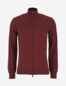 ARMANI EXCHANGE CLASSIC MOCKNECK SWEATER JACKET Fleece Jacket [*** pickupInStoreShippingNotGuaranteed_info ***] r