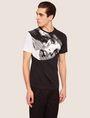 ARMANI EXCHANGE REGULAR-FIT COMIC BOOK COLORBLOCK CREW Graphic T-shirt [*** pickupInStoreShippingNotGuaranteed_info ***] f
