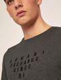ARMANI EXCHANGE SLIM-FIT SINCE '91 LOGO CREW Logo T-shirt Man b