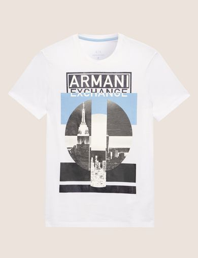 ARMANI EXCHANGE T-shirt graphique Homme R