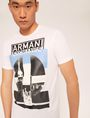 ARMANI EXCHANGE SLIM-FIT EMPIRE STATE LOGO CREW Graphic T-shirt [*** pickupInStoreShippingNotGuaranteed_info ***] a