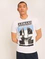 ARMANI EXCHANGE SLIM-FIT EMPIRE STATE LOGO CREW Graphic T-shirt [*** pickupInStoreShippingNotGuaranteed_info ***] f