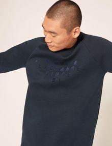 ARMANI EXCHANGE SINCE '91 SIDE-ZIP SWEATSHIRT TOP Sweatshirt Man a
