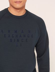 ARMANI EXCHANGE SINCE '91 SIDE-ZIP SWEATSHIRT TOP Sweatshirt Man b