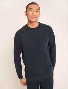 ARMANI EXCHANGE SINCE '91 SIDE-ZIP SWEATSHIRT TOP Sweatshirt Man f