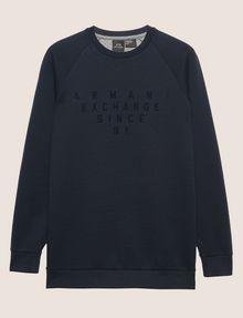 ARMANI EXCHANGE SINCE '91 SIDE-ZIP SWEATSHIRT TOP Sweatshirt Man r