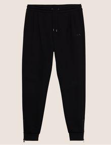 ARMANI EXCHANGE ZIP CUFF SWEATPANTS Fleece Trouser Man r