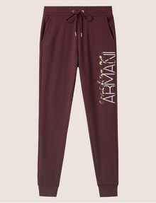 ARMANI EXCHANGE METALLIC SCRIPT LOGO JOGGER Fleece Trouser [*** pickupInStoreShipping_info ***] r