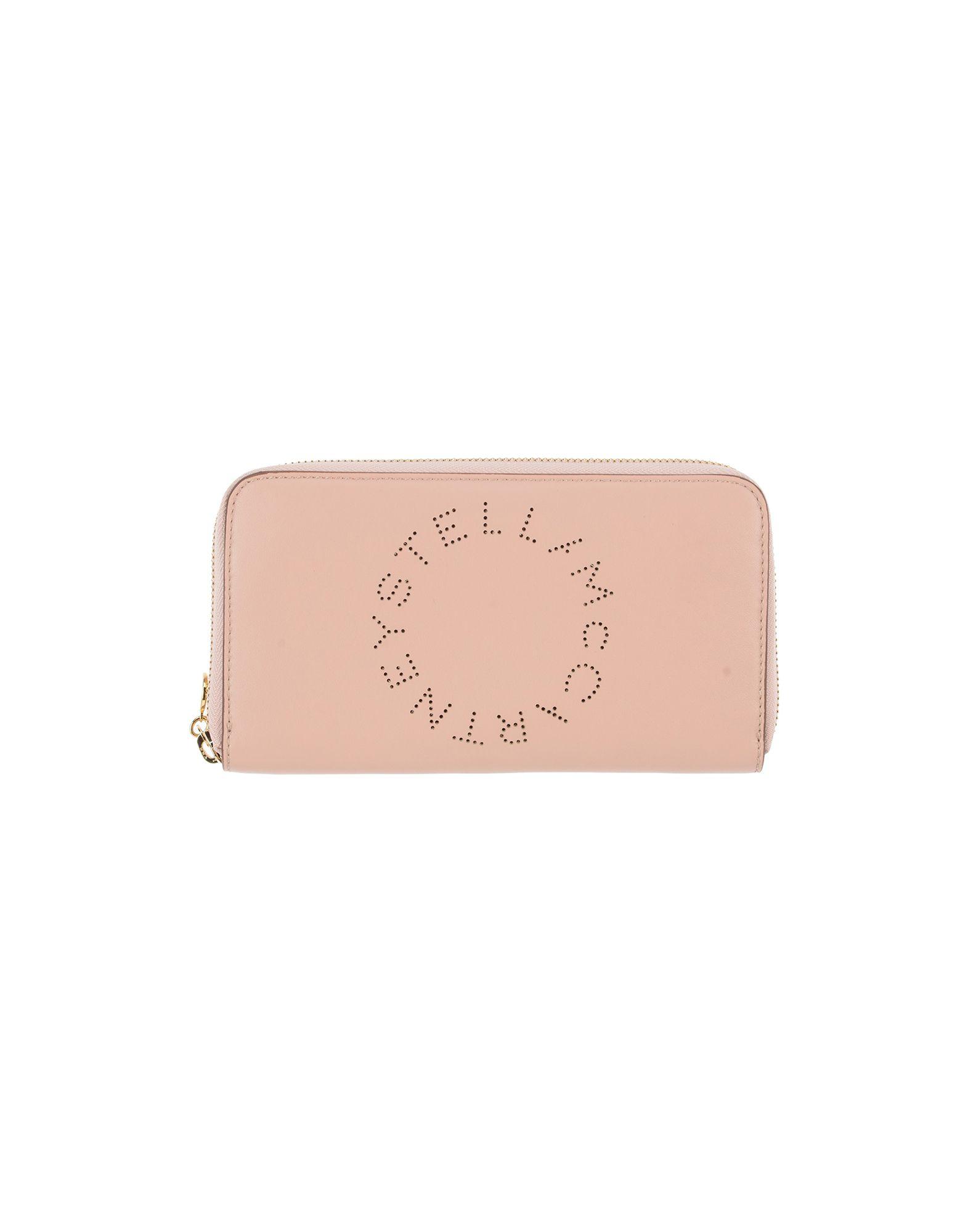 《送料無料》STELLA McCARTNEY レディース ドキュメントホルダー ピンク 紡績繊維