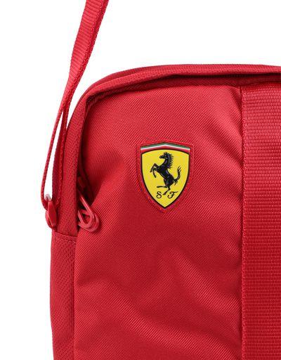 Scuderia Ferrari Online Store - 法拉利车队复刻版斜挎包 - 邮差包