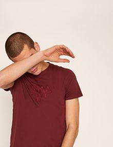 ARMANI EXCHANGE SLIM-FIT SINCE '91 LOGO CREW Logo T-shirt Man a