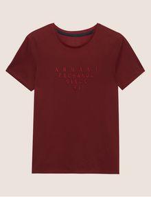ARMANI EXCHANGE SLIM-FIT SINCE '91 LOGO CREW Logo T-shirt Man r