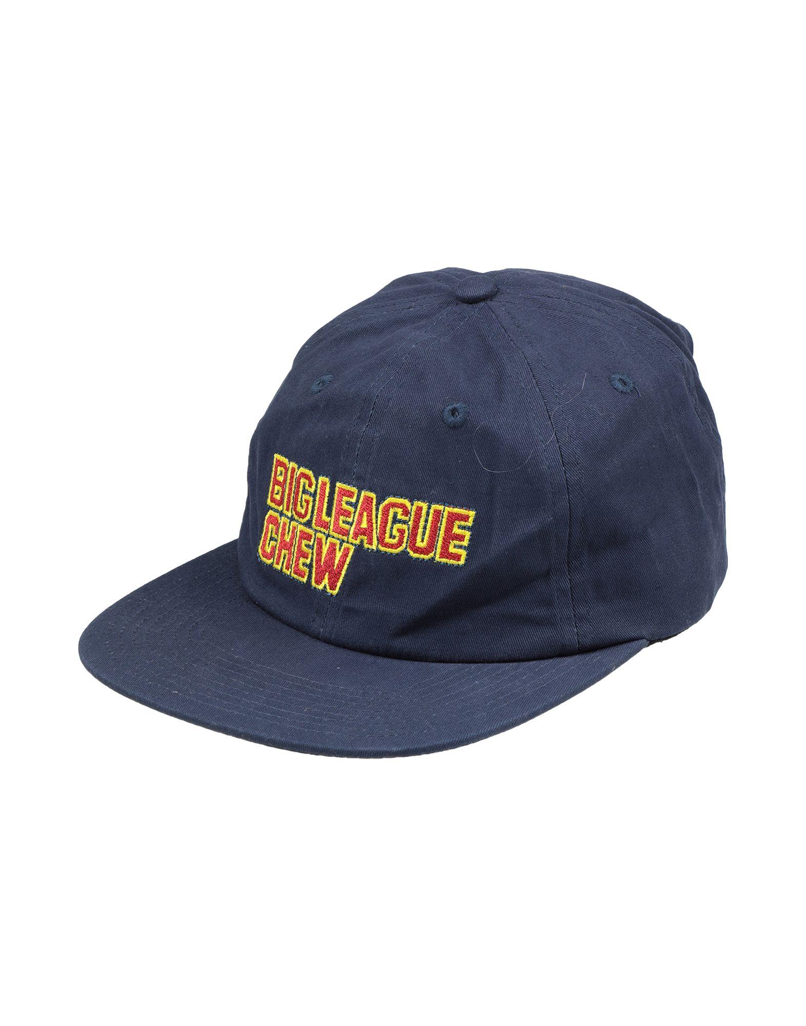 《送料無料》BIG LEAGUE CHEW BUBBLE GUM メンズ 帽子 ダークブルー one size コットン 100%