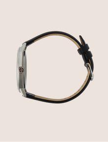 ARMANI EXCHANGE MINIMALIST STEEL LEATHER BAND WATCH Fashion Watch Man a