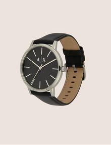ARMANI EXCHANGE Uhr mit glattem Lederband Fashion Watch [*** pickupInStoreShippingNotGuaranteed_info ***] d
