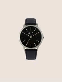 ARMANI EXCHANGE Reloj con una correa de piel suave Reloj Hombre f