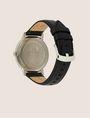 ARMANI EXCHANGE MINIMALIST STEEL LEATHER BAND WATCH Fashion Watch Man e