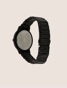 ARMANI EXCHANGE MATTE BLACK MINIMALIST BRACELET WATCH Fashion Watch Man e