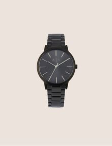 ARMANI EXCHANGE MATTE BLACK MINIMALIST BRACELET WATCH Fashion Watch Man f